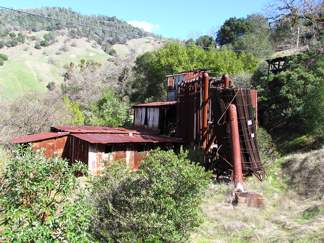 Abandoned Quicksilver Mine Geysers Road Sonoma County