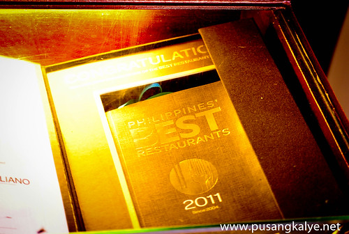 Philippines Best Restaurants 2011