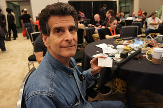 Dean Kamen and his @Gapingvoid Business Card