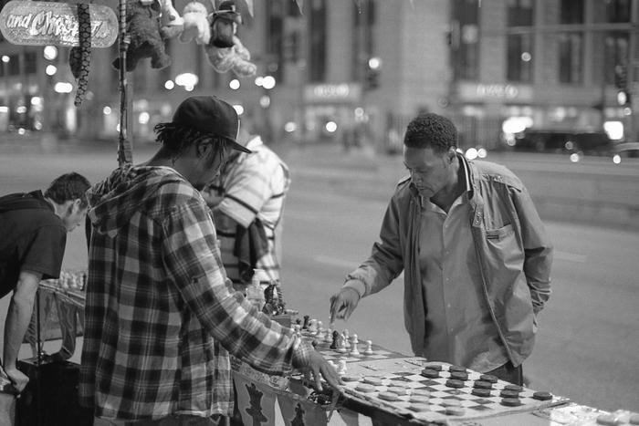 street chess ...