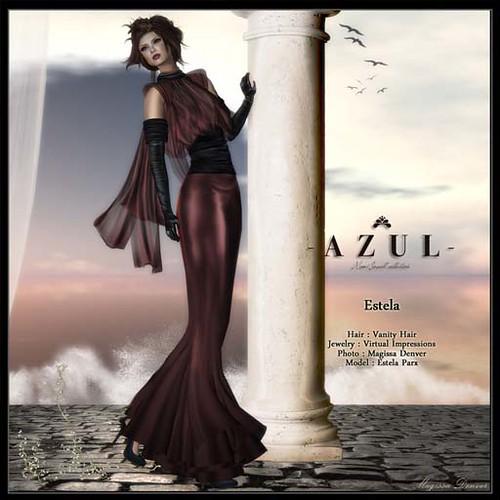 AZUL - Estela, 750 lindens by Cherokeeh Asteria