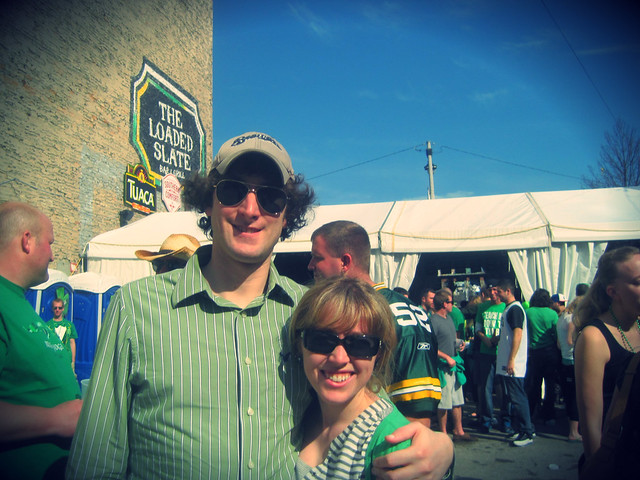 jeff and di st patty 2012