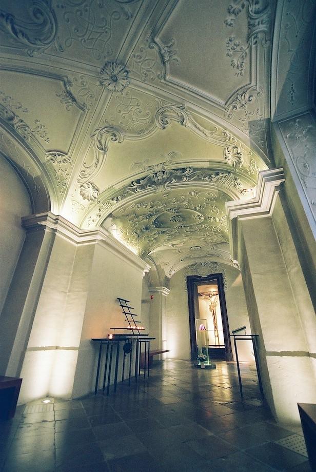 梅克修道院(Stift Melk)很漂亮的的禱告室