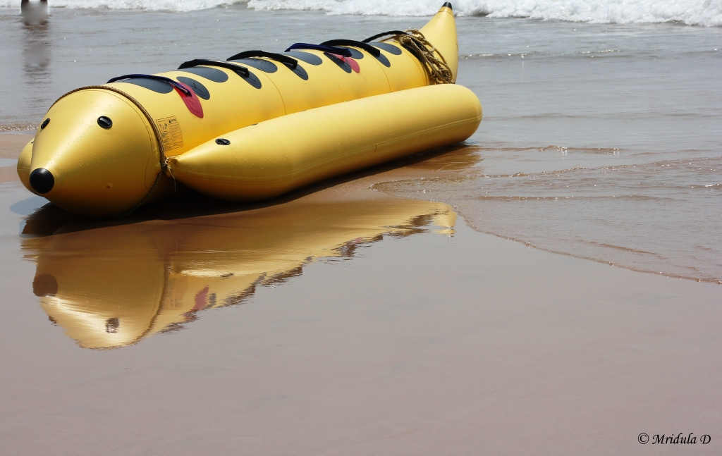 A Banana Boat, Goa, India