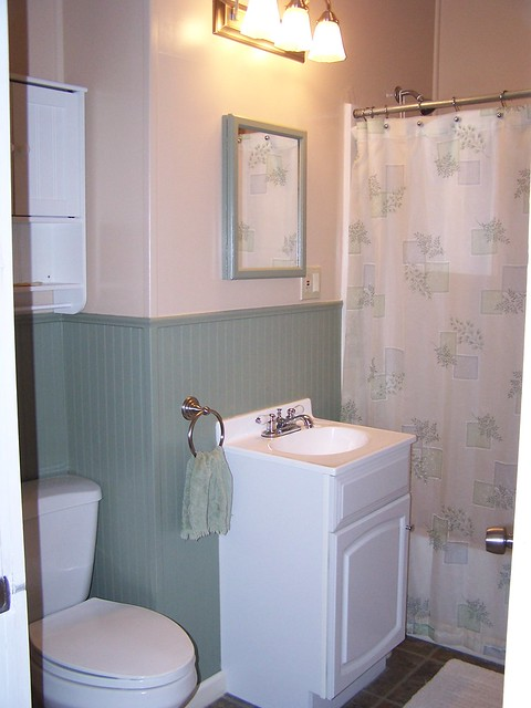 Two Tone Bathroom Completed Flickr Photo Sharing