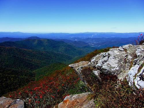 blue gardens nc asheville ridge craggy parkway