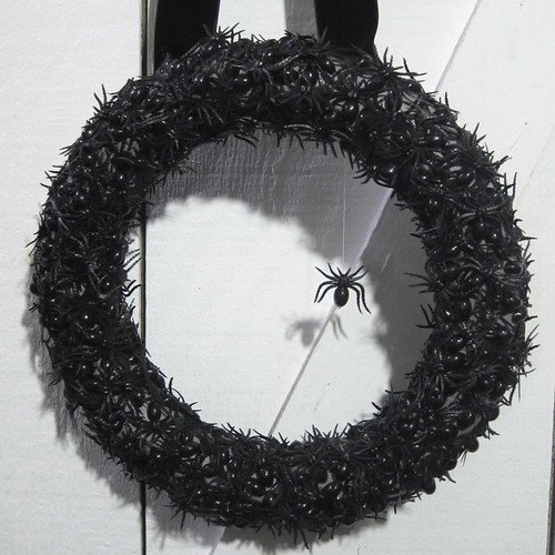 Iron Craft Challenge #41 - Spider Wreath