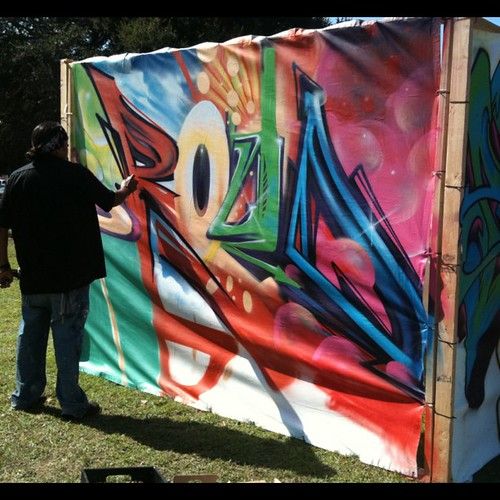 #estriabattle #oakland 2011 Word: Proud, Artist: Vyal, 1st place