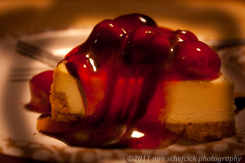 (Red) Cherries on Cheesecake