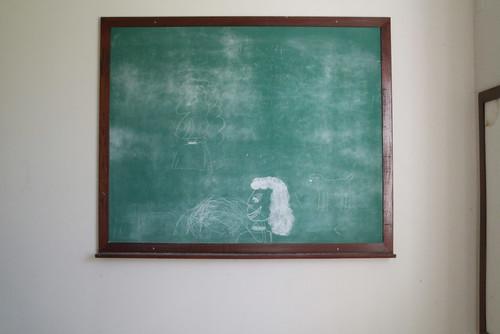 Bryce Hospital chalkboard