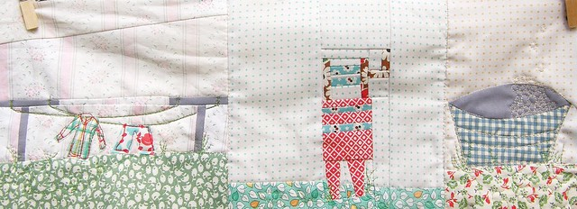 All about the laundry mini quilt