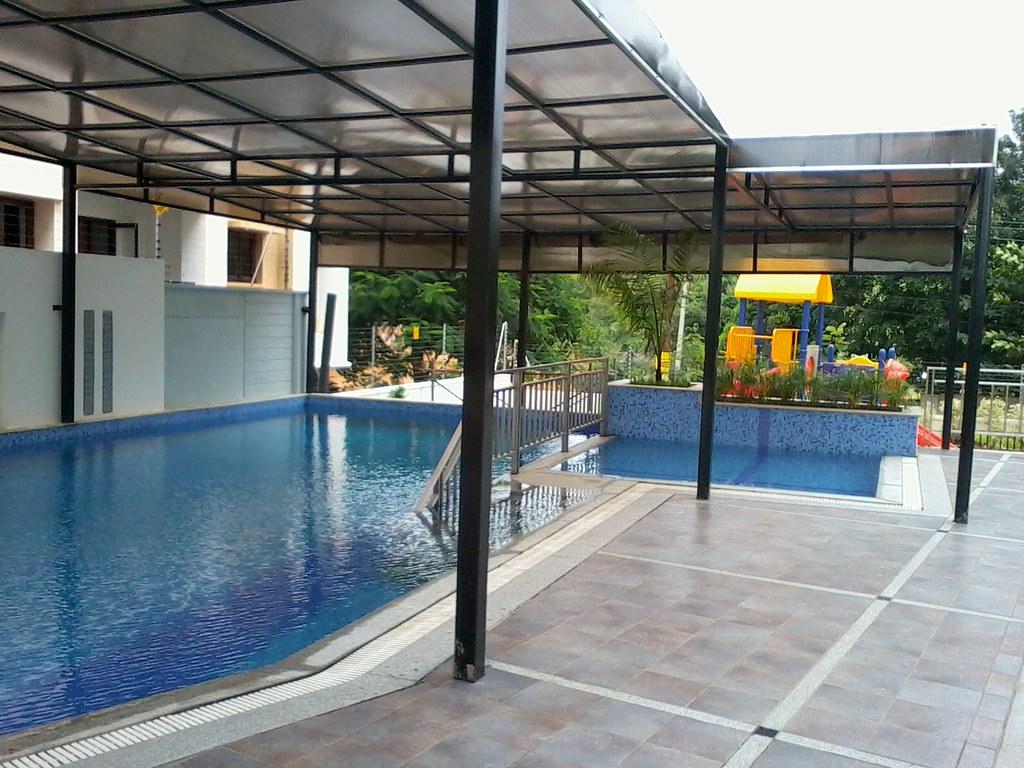 polycarbonate sheet swimming pool