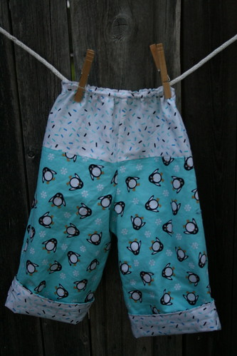 Penguin Pants Back