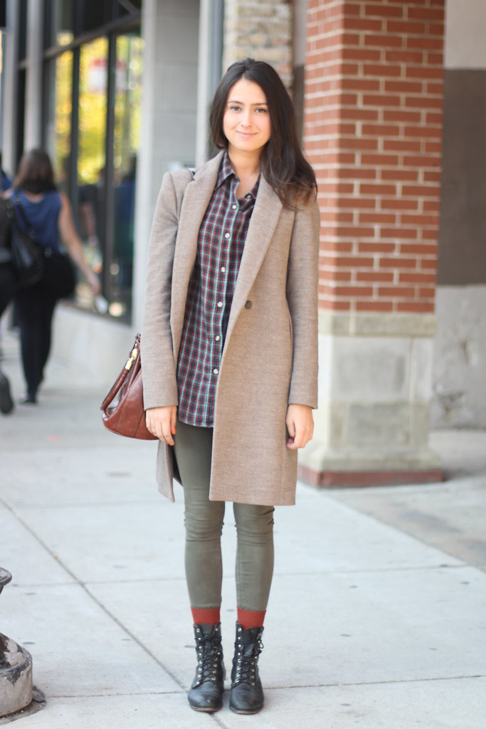 On Refinery29 Dani Perfect Fall Coat Amy Creyer 39 S Chicago Street Style Fashion Blog