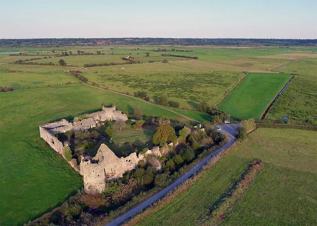Chateau de la rivière à Saint Fromond (Manche-FR)