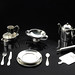 Small photo of Silver tableware miniatures