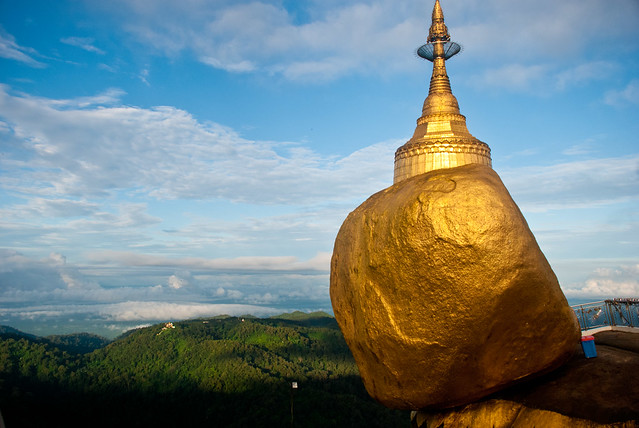 The Golden Rock, Kyaiktiyo, Myanmar