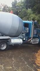 asphalt, vehicle, truck, concrete mixer,