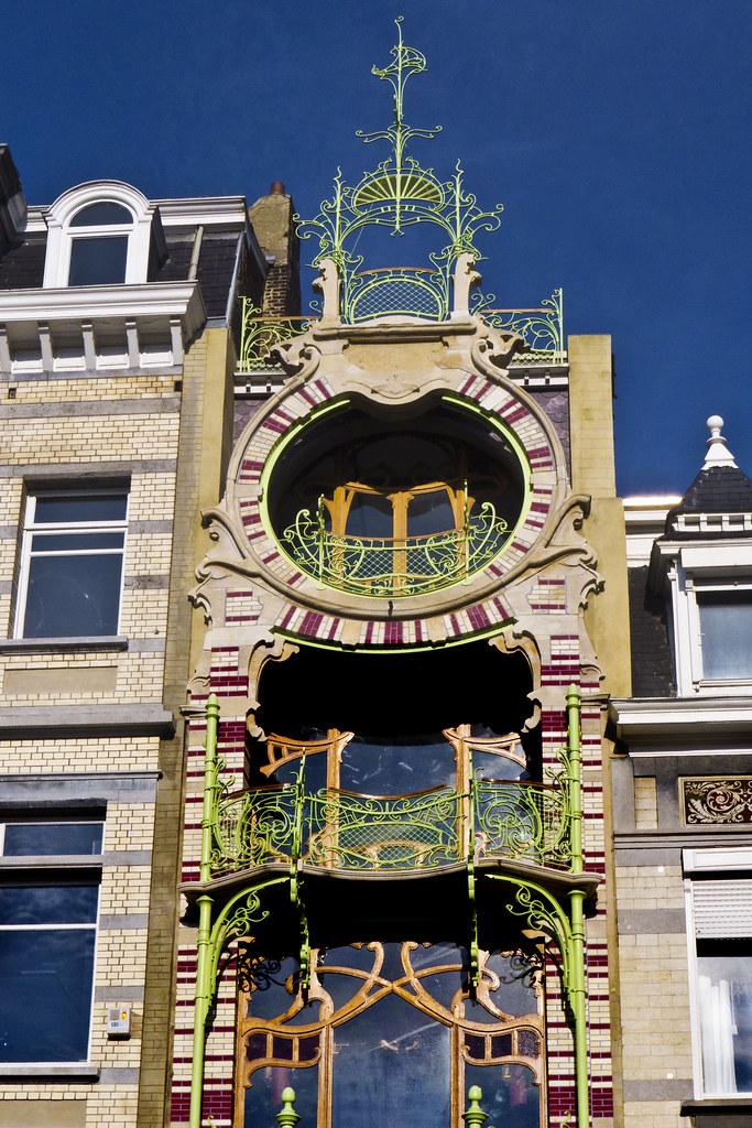 Maison Saint-Cyr - Architecte: Gustave Strauven (1903)