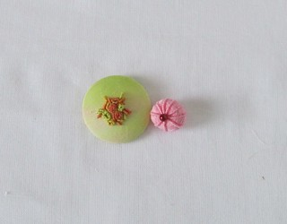 Ball and Cup Stitch Button