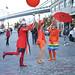 Three More Colorful Ladies @ Rainbow Parade @NewYork_CM