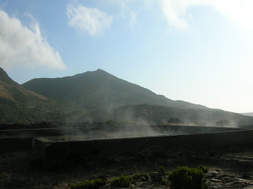 Old thermal bathhouse on Pantelleria