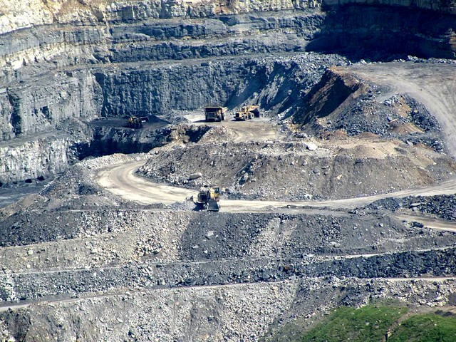 a strip mine