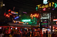 Bangla Road in Patong, Phuket, Thailand
