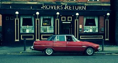 Rover at the Rovers Return