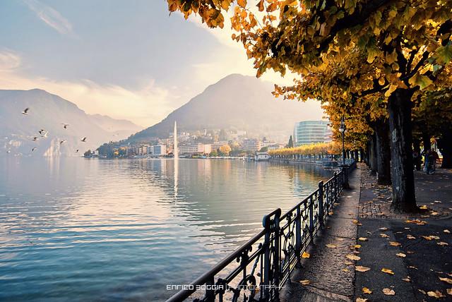 #010 L'autunno a Lugano