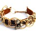 Chained Leather Bracelet