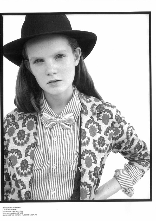 1970s printed jacket - part of a suit, featured in Alexis Magazine, November 2011