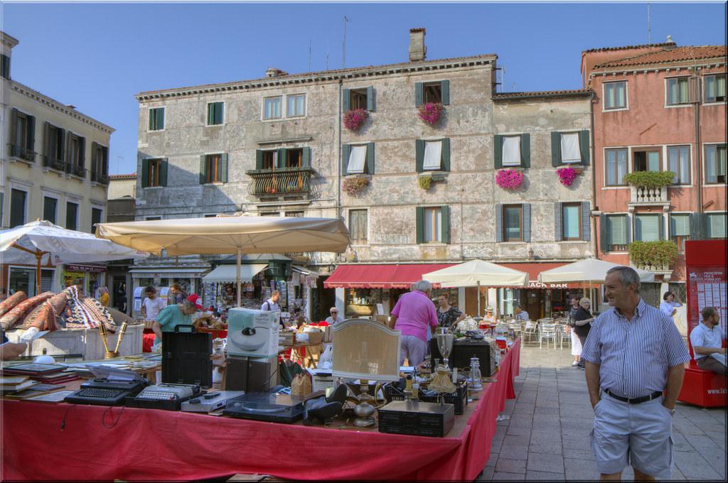 Flea Market, Venetian Style