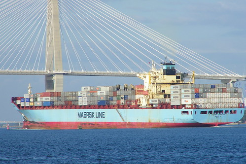 Maersk Carolina (Cargo Ship) at Charleston, South Carolina