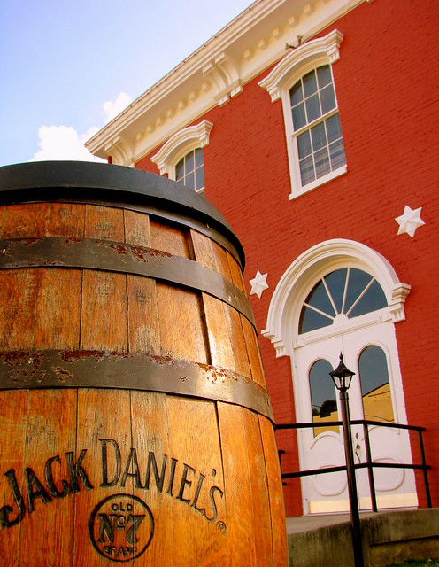 Jack Daniels Barrel at Lynchburg Town Square