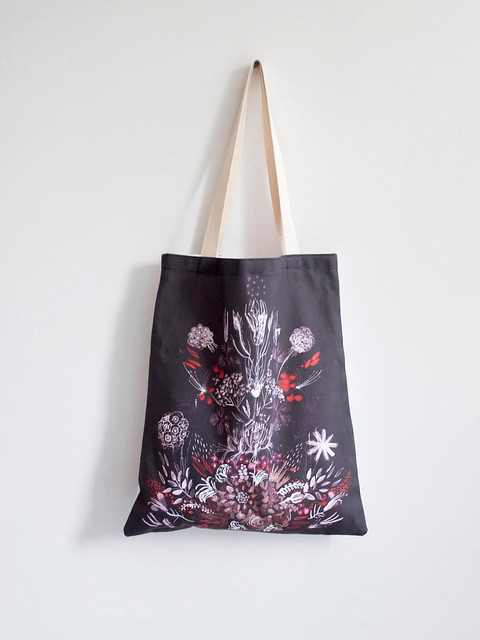 Tote - as part of my collaboration with Leah Goren