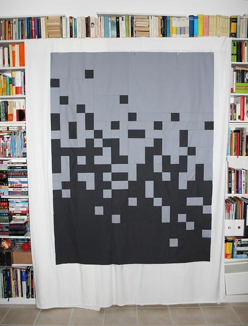 swiss pixel quilt-top