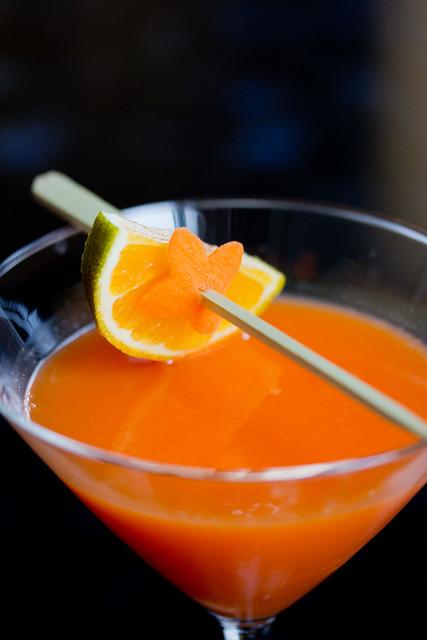 Carrot Martini