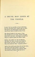 Hugh McDiarmid's 'A drunk man looks at the thistle'. First edition, Edinburgh: 1926. S.P. 386