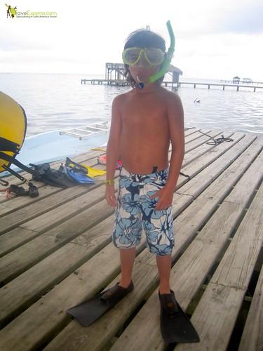 Ready for Snorkeling Kid Fun