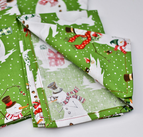 2011 11 26 Christmas Napkins-2
