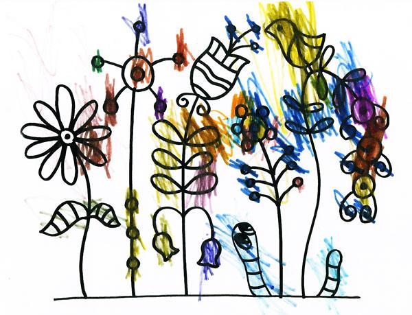 Цветы-и-червяк-003