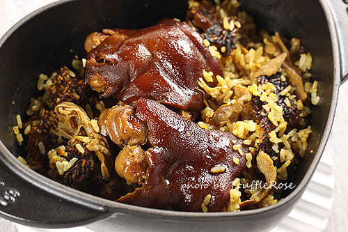 筍乾豬腳炊飯-111129