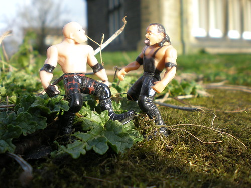 WWE Undertaker and Kane Having a Chat