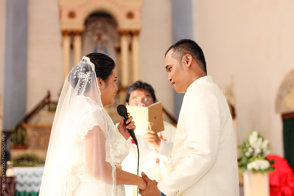 Bohol Wedding Photographer, Dauis Church Panglao Island