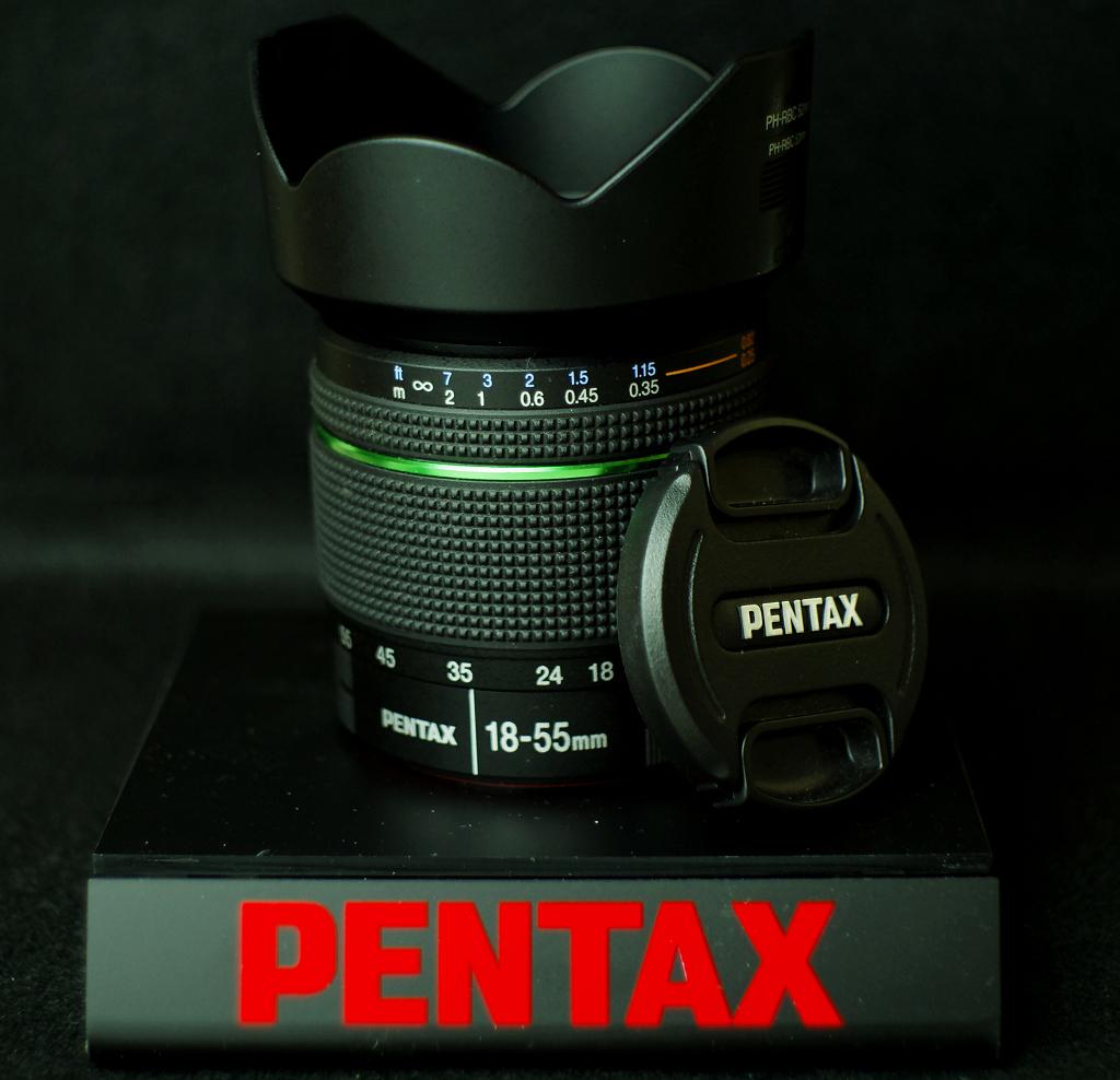 SMC PENTAX-DA 1:3.5-5.6 18-55mm AL WR