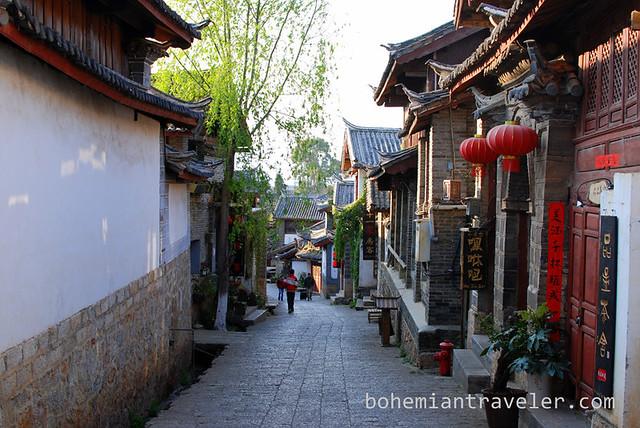 street Yunnan China