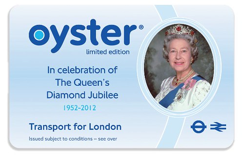 Queen on TfL-Limited-Edition-Oyster-Cards-for-Diamond-Jubilee
