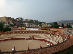 Bullfighting ring in Tlaxcala