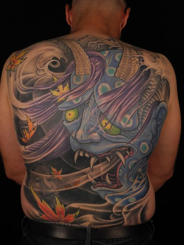 Hannya backpiece